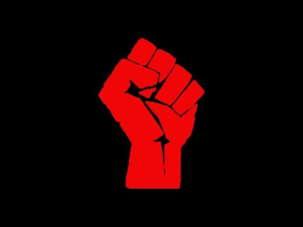 rebel fist