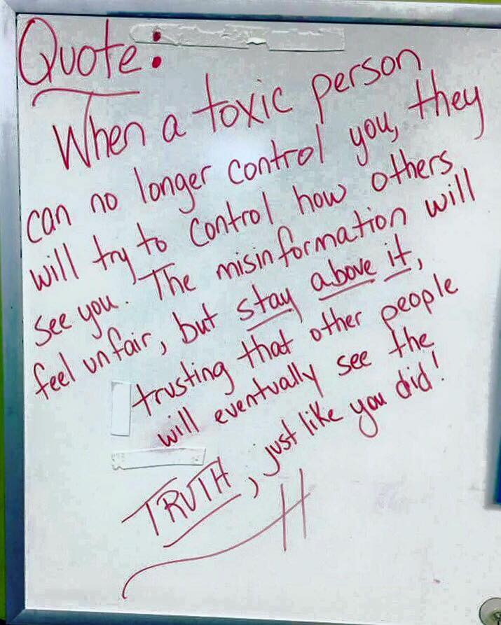 Toxic People Quote Harleysnode